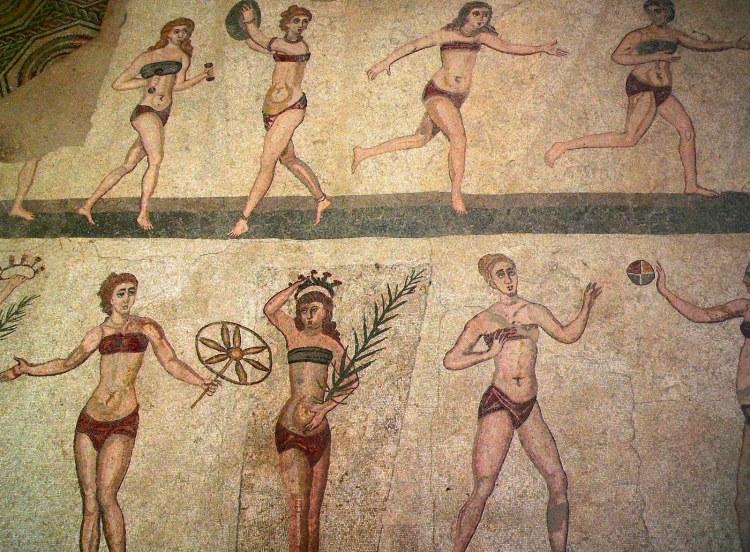 ancient roman underwear