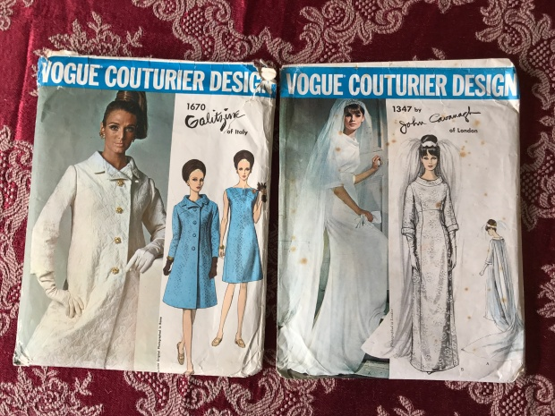 Vogue couturier design patterns