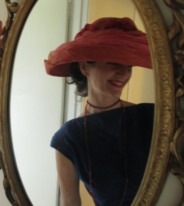 Vogue jump suit hat in mirror.jpg