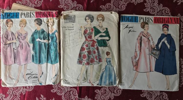 Vogue Paris Original and Couturier patterns.JPG