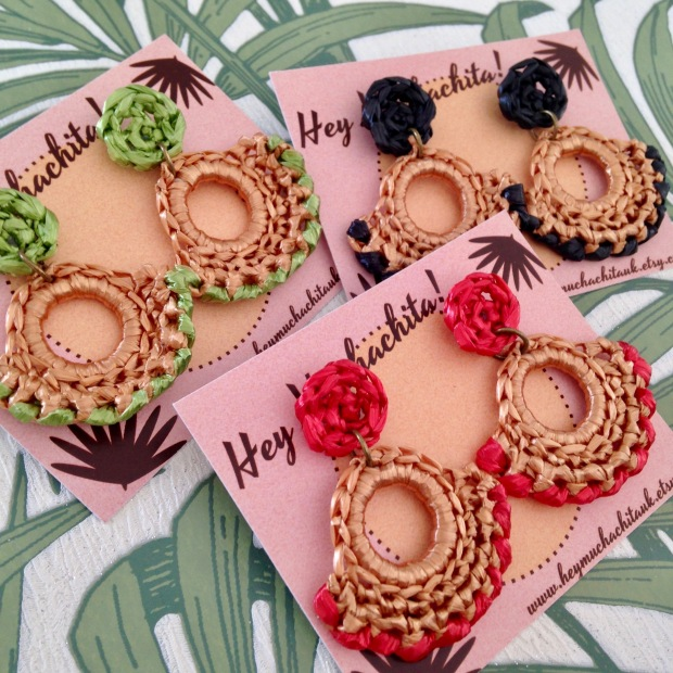 Maya earrings all colours