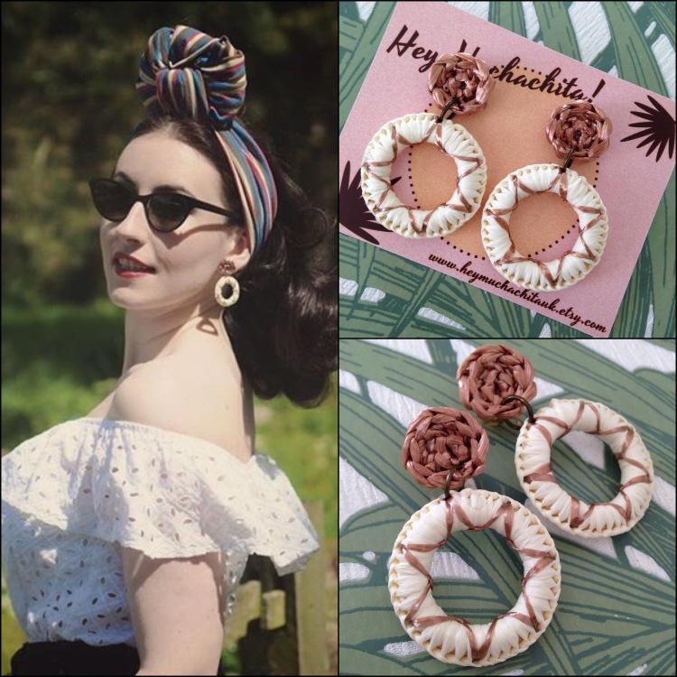 Sarahs Doowop Dos with Fiesta Earrings