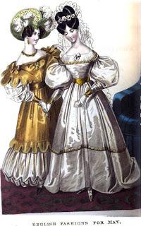 1832 weddding dress-Royal Lady's Mag