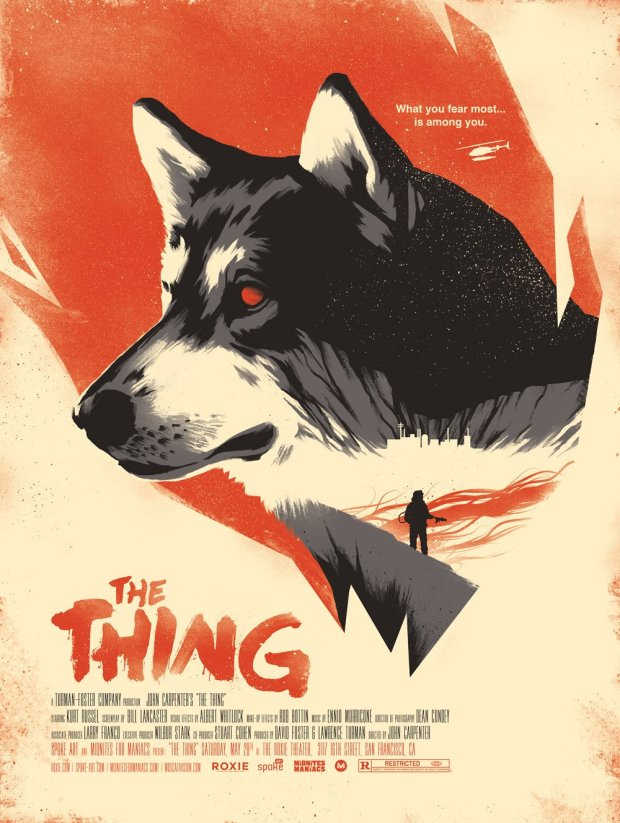 David Moscati-TheThing-Poster