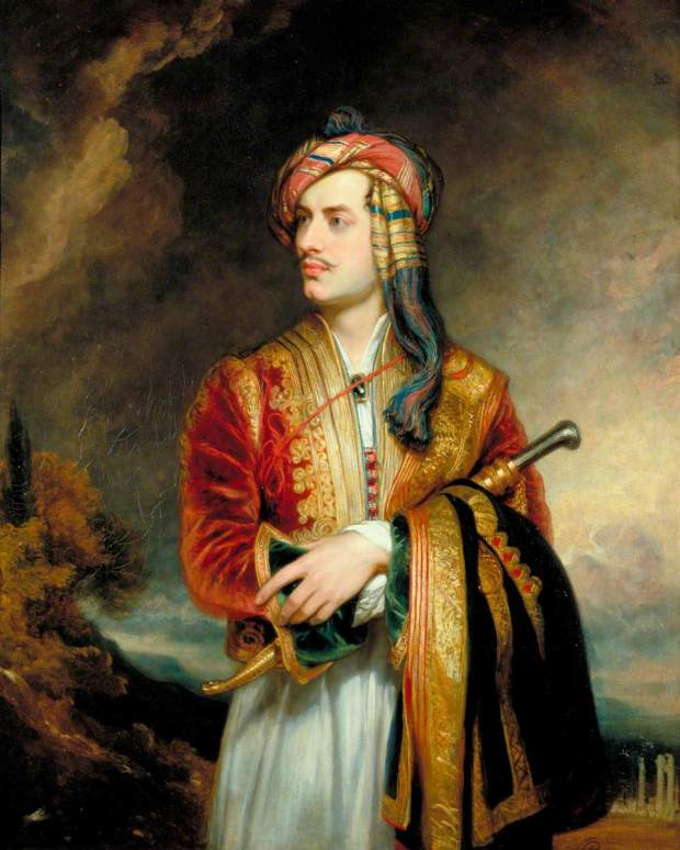 Phillips, Thomas, 1770-1845; George Gordon Byron (1788-1824), 6th Baron Byron, Poet